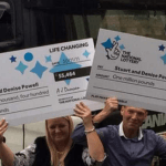 Stuart e Denise Powell, neo milionari alla National Lottery UK